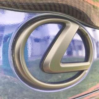 Lexus IS250 Rear Trunk Emblem Logo