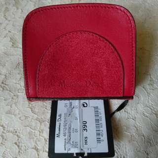 Massimo Dutti Leather Coin Case