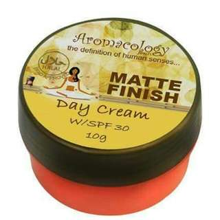 Aromacology Matte Finish Day Cream with SPF30