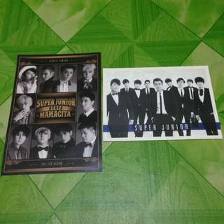 SUPER JUNIOR OFFICIAL POSTCARD