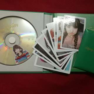 [Free Poster💗]Twice Momo cd Merry and Happy