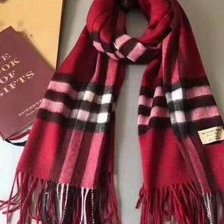 🈹Burberry 頸巾