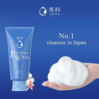 Senka Shiseido Perfect Whip 120gr