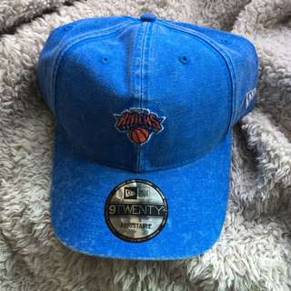 New Era Knicks Denim Cap
