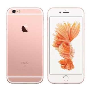 徵收 一部iPhone6s玫瑰金 64gb / 128gb