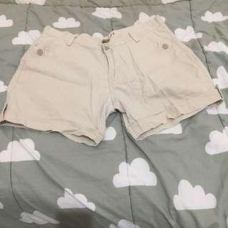 Cream Short pants THEORY
