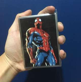 Spider Man Cards/Cigarette/Coins Holder