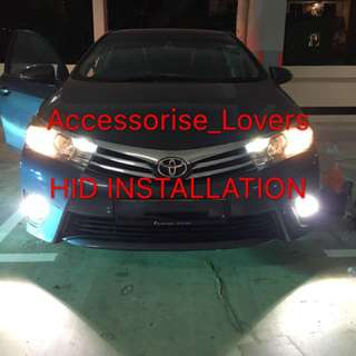 HID 55W HID Conversion Xenon Kits for   H1, H3  , H7 , H11, 9005 , 9006, 881  Instock   (3000k ,6000k , 8000k )