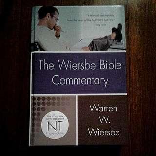 New. The Wiersbe Bible Commentary. New Testament. By Warren W. Wiersbe
