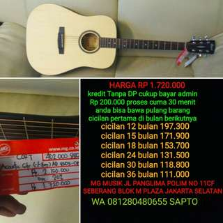 Gitar Cort Ad 850s bisa di cicil
