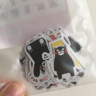 可愛熊本熊 貼紙