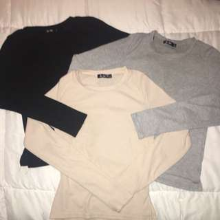 Long Sleeve Crops (bundle)