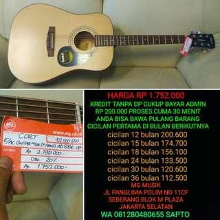 Gitar Cort AD 810 E Op Bisa cicil tanpa dp