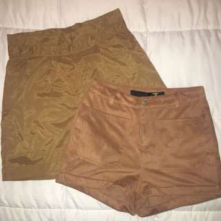 Tan shorts (bundle)