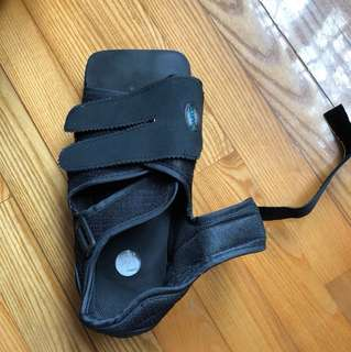 石膏腳專用 post operation open sandal
