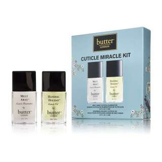 London Butter Cuticle Miracle Kit For Nails