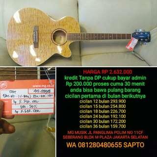 Gitar Cort SFX QM nat Bisa Cicilan Tanpa dp