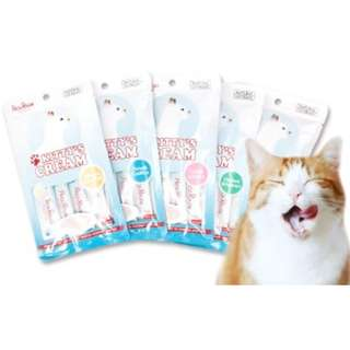 Petz Route Kitty's Cream Cat Treats 16g x 4's, 3 packs