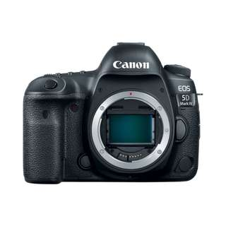 NEW Canon 5D Mark IV Camera Body (EOS 5D MK 4)