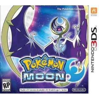 Pokemon Moon(US Version)