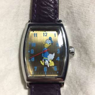 Genuine leather Ingersoll x Disney Donald Duck watch