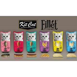 Kit Cat Fillet Cat Treats 30g, 4 packs