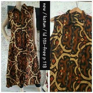 Long cardi batik new