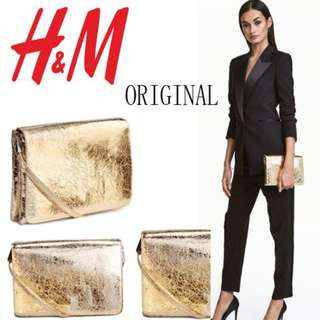 H&M Gold Bag