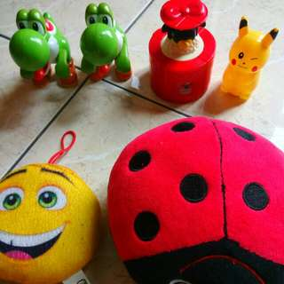 Toys set All for rm 12