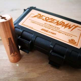 VAMP The Descendant in Copper (Vape/Mech-mod/機械桿)