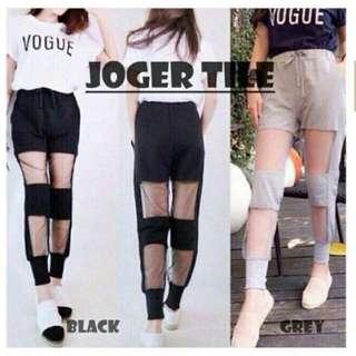 Black jogger