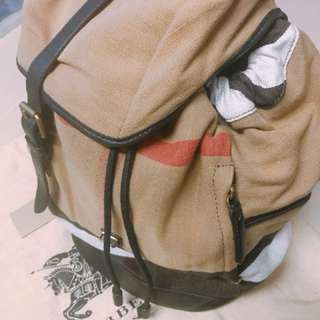 98% new Burberry Backpack