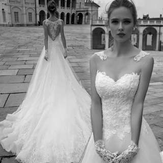 2018 new spring arrival European style wedding gown