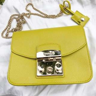 FURLA bag 98%new Metropolis Mini Crossbody Bag