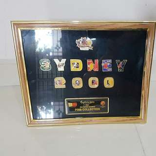 Sydney 2000 Olympic Games Pins Collection