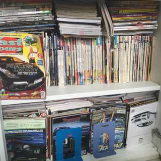 Various Car Magazine