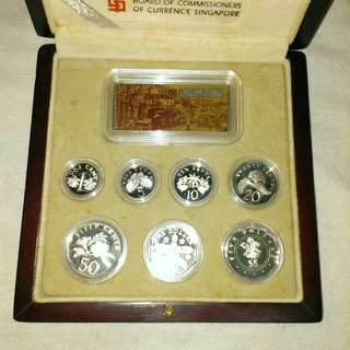 2000 Sterling Silver Proof Coin Set