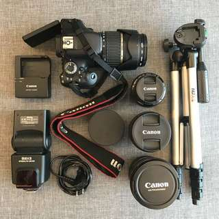 DSLR + accesories (Items in my profile)