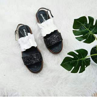 Sendal sepatu premium gliter