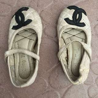Kids shoes chanel inspired