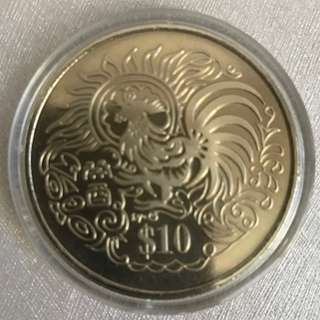 1993 $10 Uncirculated Cupro-Nickel Proof-Like Coin
