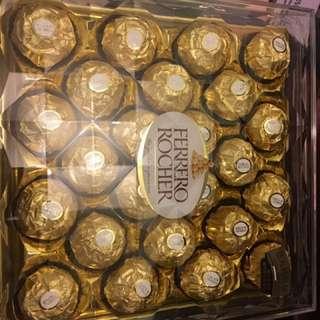 全新7-11 行貨金莎 金鑽禮盒24粒(300gm)8盒