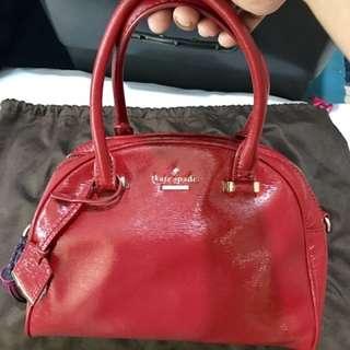 Kate Spade Bag - Red