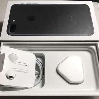 iPhone 7 Plus 128gb 黑色 (90% new)