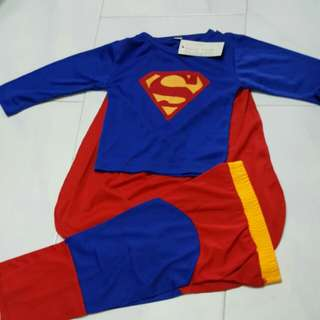 new superman costume tee and pants 2T