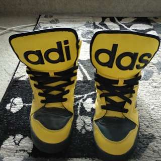 Yellow Adidas Jeremy Scott