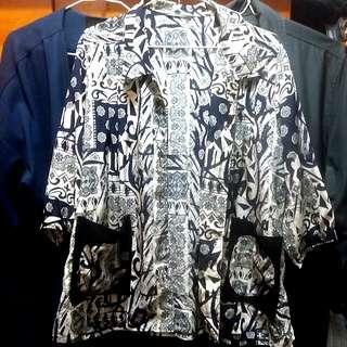 Vintage clothing long shirt