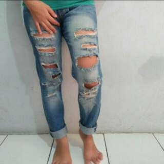Ripped jeans kenzo