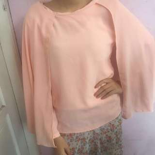 PINK KOREAN BKK CAPE TOP