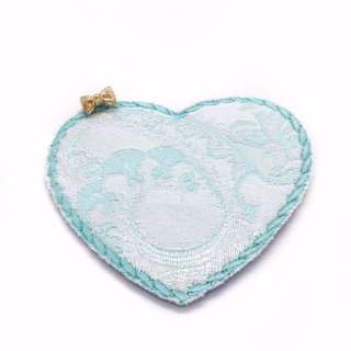 Charmed Fabric Bookmark (Shiny Blue)